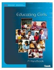 CIDA: Educating Girls, A Handbook - United Nations Girls' Education ...
