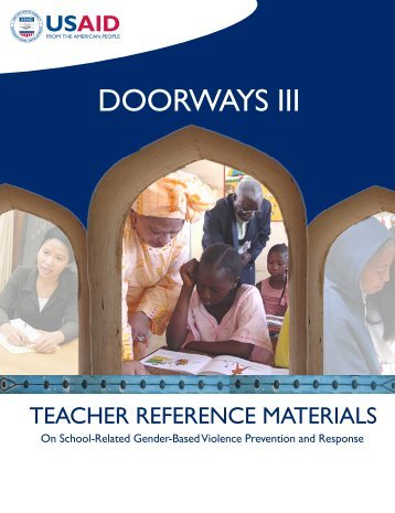 Teacher Reference Materials On School-Related Gender-Based ...