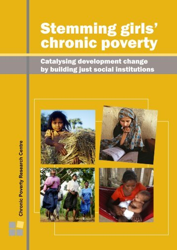 Stemming girls' chronic poverty - United Nations Girls' Education ...
