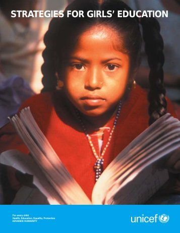 STRATEGIES FOR GIRLS' EDUCATION - INEE Toolkit