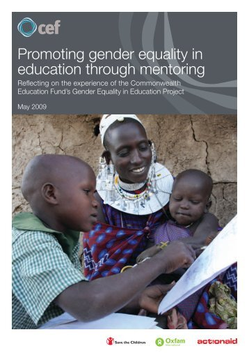Promoting gender equality in education through ... - GBCHealth