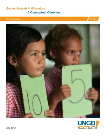Gender Analysis in Education: - United Nations Girls' Education ...
