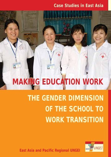 making education work - United Nations Girls' Education Initiative
