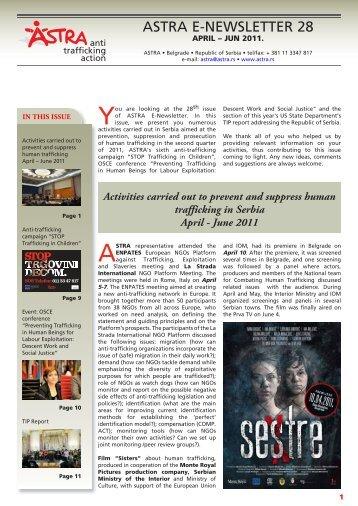 astra e-newsletter 28 - UN.GIFT.HUB - UN Global Initiative to Fight ...