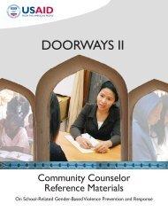 Doorways II Counselors Manual - United Nations Girls' Education ...