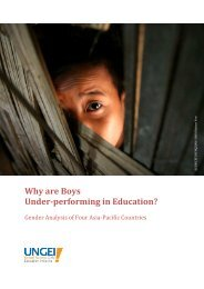 Why are Boys Underperforming in Education? - United Nations Girls ...