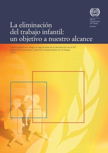 La eliminación del trabajo infantil - International Labour Organization