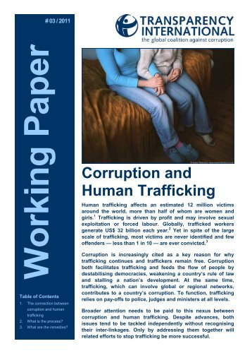 Corruption and Human Trafficking - UN.GIFT.HUB - UN Global ...