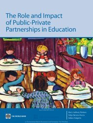 The Role and Impact of Public-Private Partnerships in Education