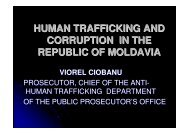 HUMAN TRAFFICKING AND CORRUPTION IN THE REPUBLIC OF ...