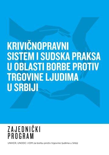 Krivicnopravni sistem i sudska praksa u oblasti borbe protiv trgovine ...