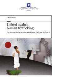 United against human trafficking - Regjeringen