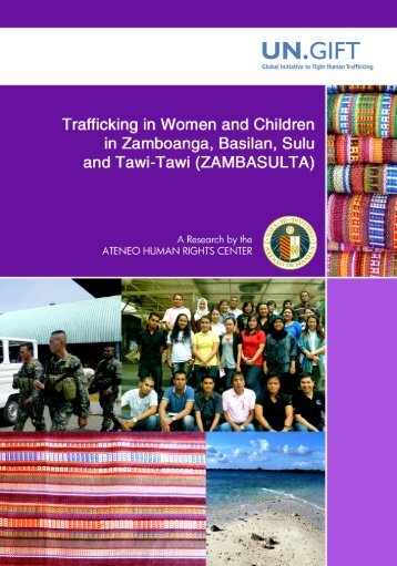 Trafficking in Women and Children - UN.GIFT.HUB - UN Global ...