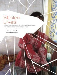 Stolen Lives - UN.GIFT.HUB - UN Global Initiative to Fight Human ...