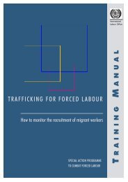 Trafficking for forced labour - International Labour Organization