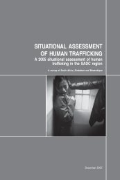 3332 UNODC Situational Assessment of Human Trafficking.indd