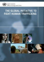 the global initiative to fight human trafficking - United Nations Office ...
