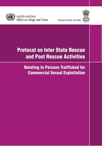 post rescue activities - United Nations Office on Drugs and Crime