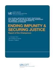 table of contents - UN.GIFT.HUB - UN Global Initiative to Fight ...