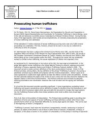 Prosecuting human traffickers - UN.GIFT.HUB - UN Global Initiative ...