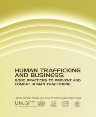 conTenT - UN.GIFT.HUB - UN Global Initiative to Fight Human ...
