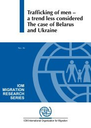 a trend less considered The case of Belarus and Ukraine - IOM ...