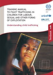 Understanding child trafficking - Unicef
