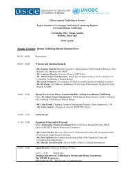 Alliance against Trafficking in Persons Expert Seminar on ...