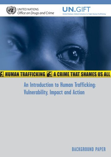 An Introduction to Human Trafficking - United Nations Office on ...