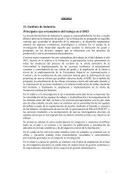 13. Instituto de Industria Principales ejes orientadores del trabajo en ...