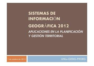 Nicolás CALONI: Análisis espacial de riesgo tecnológico. Aplicación