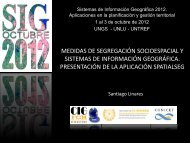 Santiago LINARES: Medidas de segregación espacial y Sistemas