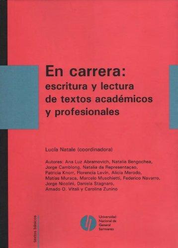 Descargar Prólogo e Indice (PDF) - Universidad Nacional de ...