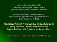 Patricia LUCERO - Universidad Nacional de General Sarmiento