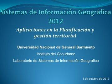 Nicolás CALONI - Universidad Nacional de General Sarmiento