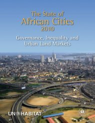 The State of African Cities 2010 Report - UN-Habitat