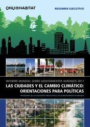 las ciudades y el cambio climático: orientaciones para ... - UN-Habitat