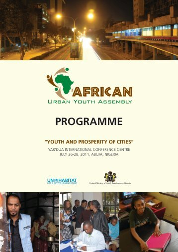 Tentative Programme - UN-Habitat
