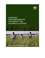 guidelines for environmental assessment - UN-Habitat