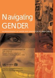 A Rapid Gender Assessment Of The Cities Of - UN-Habitat