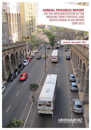 Annual Progress Report on the Implementation of MTSIP - UN-Habitat