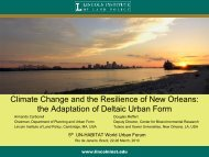 Climate Change and the Resilience of New Orleans - UN-Habitat
