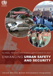 Enhancing Urban Safety and Security: Global Report ... - UN-Habitat