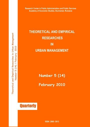 Theoretical and empirical researches in urban ... - UN-Habitat
