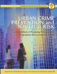 Urban Crime Prevention and Youth at Risk - International Centre for ...