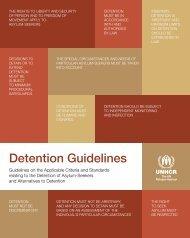 Detention Guidelines - Refworld
