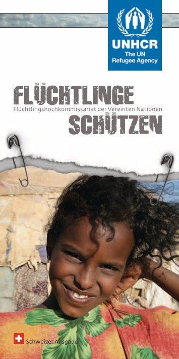 FLUCHTLINGE SCHUTZEN - UNHCR