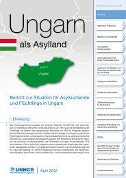 Asyl in Ungarn - unhcr