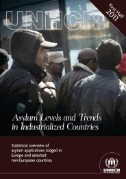 Asylum Levels and Trends in Industrialized Countries - unhcr
