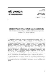 7 avril 2006 Original: ANGLAIS PRINCIPES ... - UNHCR